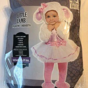 Adorable Little Lamb costume